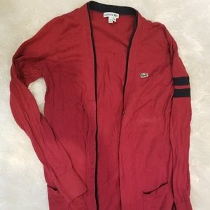 Lacoste button cardigan